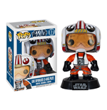 Star Wars POP! Vinyl Wackelkopf-Figur Luke Skywalker (X-Wing Pilot) 9 cm