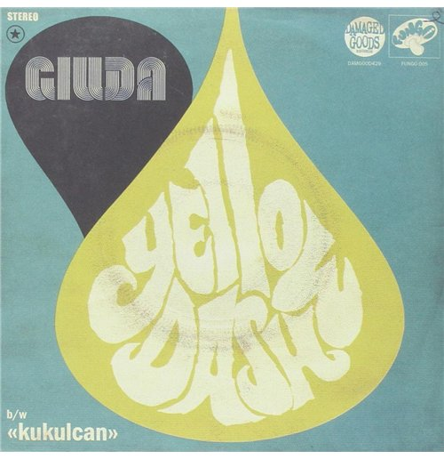 "Vinyl Giuda - Yellow Dash (7"")"