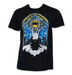 T-Shirt Batman Stained Glass