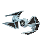 Star Wars Episode VII Modellbausatz 1/90 Tie Interceptor 10 cm