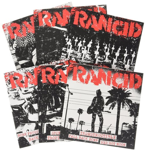"Vinyl Rancid - Indestructible (rancid Essentials 6x7"" Pack) (7"")"