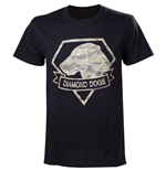 T-Shirt Metal Gear  V Diamond Dogs Army - L