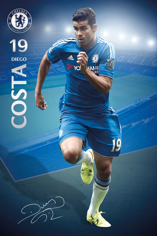 Poster Chelsea Costa 15/16
