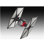 Star Wars Episode VII Build & Play Modellbausatz mit Sound und Leuchtfunktion Tie Fighter 13 cm