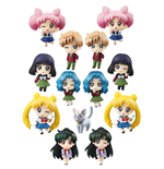 Sailor Moon Petit Chara Pretty Soldier Sammelfiguren 6 cm More School Life Sortiment (6)