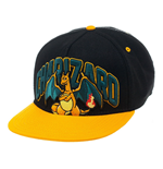 Pokemon Snap Back Hip Hop Cap Charizard