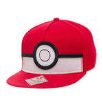 Pokemon Snap Back Hip Hop Cap 3D Poke Ball