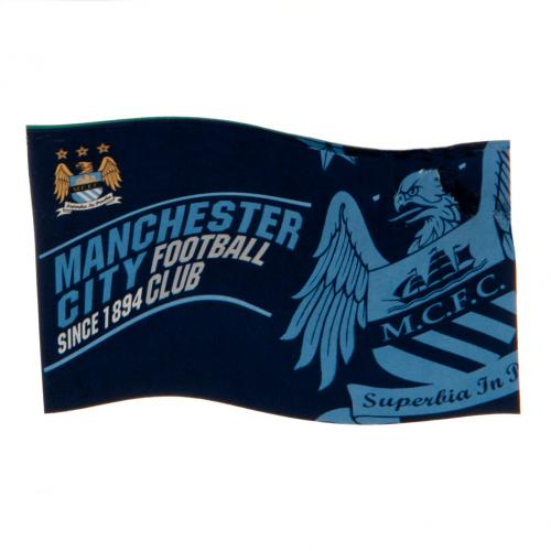 Flagge Manchester City FC