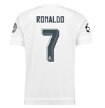 Trikot Real Madrid 2015-2016 Home UCL (Ronaldo 7) - Kids