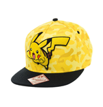 Pokemon Snap Back Hip Hop Cap Pikachu Camo