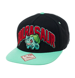 Pokemon Snap Back Hip Hop Cap Bulbasaur