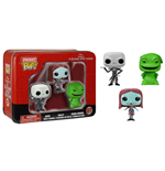 Nightmare Before Christmas Pocket POP! Tins Figuren Dreierpack 4 cm