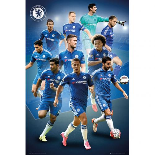 Poster Chelsea Players 25