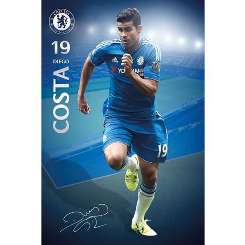 Poster Chelsea Diego Costa 35