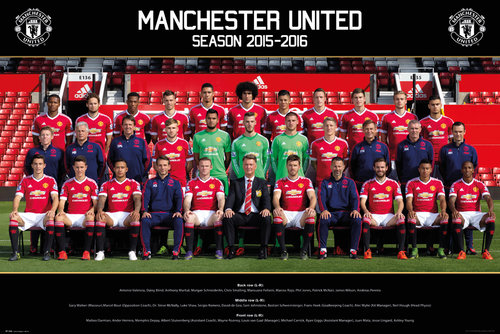 Poster Manchester United FC