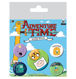 Adventure Time Ansteck-Buttons 5er-Pack Bro Hug