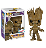 Guardians of the Galaxy POP! Vinyl Wackelkopf-Figur Angry Groot Exclusive 10 cm