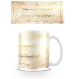 Herr der Ringe Tasse Ring Inscription