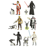 Star Wars Actionfiguren 10 cm 2015 Jungle/Space Wave 1 Sortiment (12)