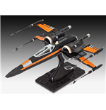 Star Wars Episode VII EasyKit Modellbausatz Poe's X-Wing Fighter 25 cm