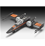 Star Wars Episode VII Build & Play Modellbausatz mit Sound Poe's X-Wing Fighter 22 cm