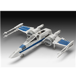 Star Wars Episode VII Build & Play Modellbausatz mit Sound X-Wing Fighter 22 cm