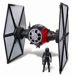 Star Wars Episode VII Class II Deluxe Fahrzeug mit Figur 2015 1st Order Special Forces TIE Fighter