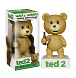 Ted 2 Wacky Wobbler Wackelkopf-Figur mit Sound Talking Ted R Rated Ver. 15 cm