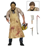 Texas Chainsaw Massacre Retro Actionfigur 40th Anniversary Ultimate Leatherface 20 cm