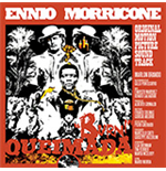 Vinyl Ennio Morricone - Queimada (Clear & Orange Mixed Vinyl+Poster)