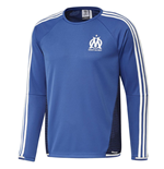 Sweatshirt Training Olympique Marseille 2015-2016 (Blau)