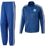 Trainingsanzug Präsentation Olympique Marseille 2015-2016 (Blau)