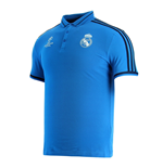 Polohemd Real Madrid 2015-2016 (Blau)