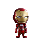 Avengers Age of Ultron Cosbaby (S) Minifigur Serie 2 Iron Man Mark XLV 9 cm