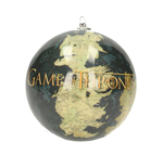 Game of Thrones Christbaumschmuck World Map & Logo