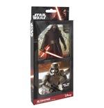 Star Wars Episode VII Untersetzer 3D 8er-Pack