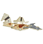 Star Wars Episode VII Micro Machines Spielset 2015 Millennium Falcon