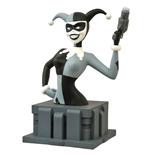 Batman The Animated Series Büste Almost Got 'Im Harley Quinn Black & White NYCC 2015 Exclusive 15 cm