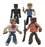 Pulp Fiction Minimates Actionfiguren 5 cm Bring out the Gimp Box Set