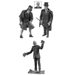 Universal Monsters Legacy Series Black & White Actionfiguren Box Set #4 18 cm