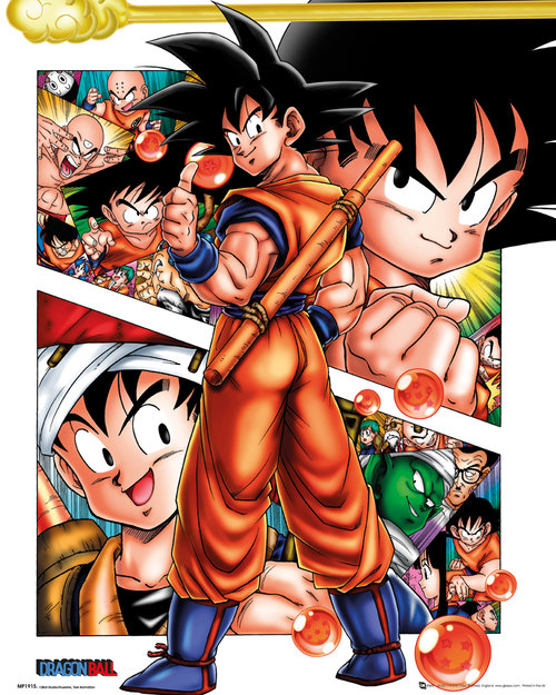 Poster Dragon Ball Collage