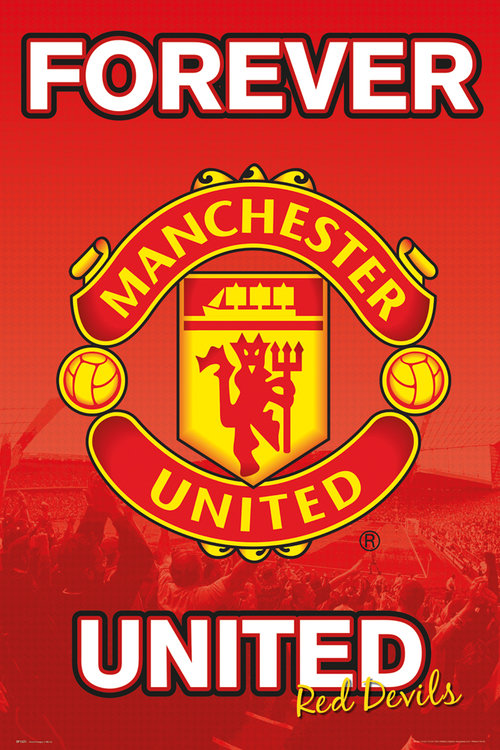 Poster Manchester United FC Forever 15/16