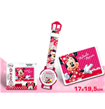 Set Uhr Minnie + Tasche Minnie