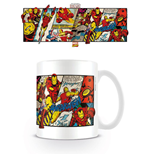 Marvel Comics Tasse Iron Man Panels