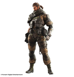 Metal Gear Solid V Play Arts Kai Action Figure Venom Snake Spiltter Ver. heo EMEA Exclusive 27 cm