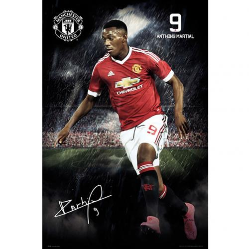 Poster Manchester United FC 180401