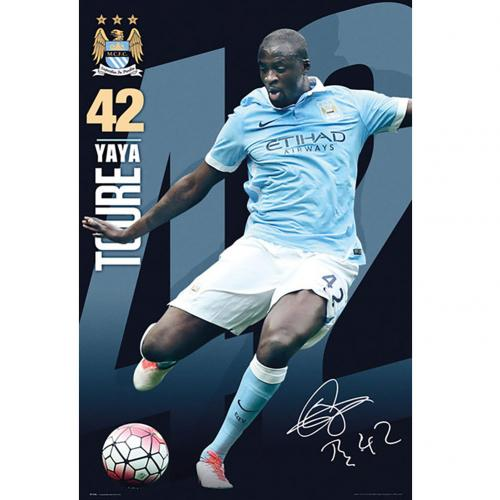 Poster Manchester City FC 180403