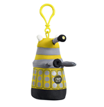 Doctor Who Clip-On Plüschfigur mit Sound Yellow Dalek 10 cm