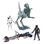 Star Wars Episode VII Class I Fahrzeuge mit Figuren 2015 Wave 1 Sortiment (4)