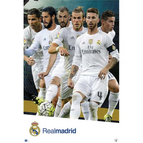 Poster Real Madrid 180680